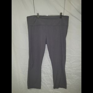Athleta cropped work out pants